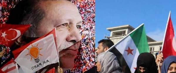 'Gönderileceği' söylenen Suriyeliler AKP'de siyaset yapmaya başladı