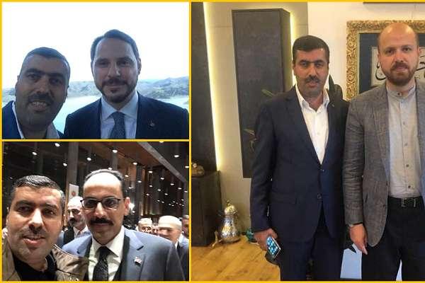 Erdoğan'ın önünü kesip şikayet ettikleri kişinin, Erdoğan'a en yakın isimlerle fotoğrafları çıktı!