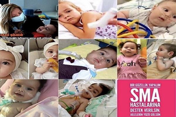 Sosyal medyada anlamlı eylem: Varlık Fonu'na devredilen 75 milyonu SMA tedavisinde kullanın