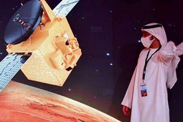 Birleşik Arap Emirlikleri de uzayda: Umut sondası Mars'ın yörüngesine yerleşti!
