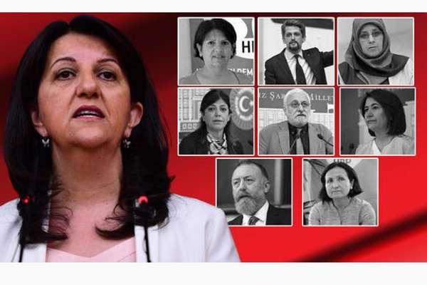 HDP'li 9 milletvekili hakkında 'Kobani eylemleri' soruşturması…