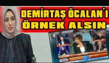 """Özlem Zengin: """"Demirtaş, Öcalan'ı örnek alsın"""""""