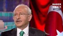 Kılıçdaroğlu konuşmasını kesen Habertürk'teki programını iptal etti