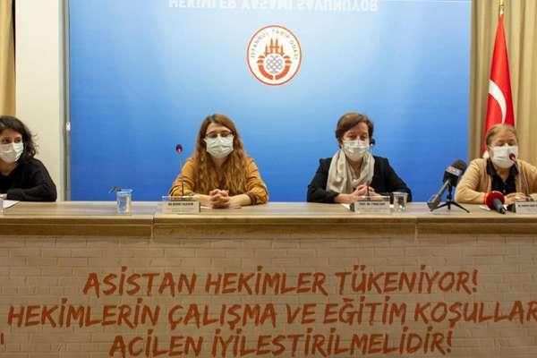 Asistan hekimler, 'çalışma ve eğitim koşullarının iyileştirilmesini' talep etti
