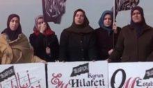 Şeriatçı örgütün kadınlarından 'hilafet' çağrısı