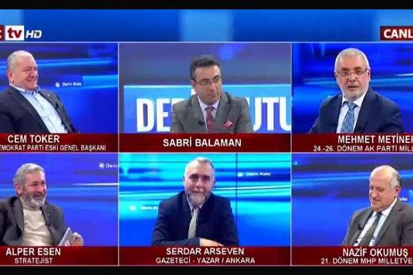 Metiner'in 'Bu ülkeye demokrasiyi biz getirdik' sözlerine AKP'li konuklar bile güldü!