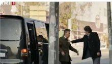 Siyah transporterla insan kaçırma sahnesi TRT dizisinde!