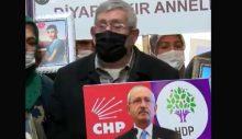 Celal Kılıçdaroğlu HDP önüne gitti: 'Ben de ağabeyimi HDP'den istiyorum'