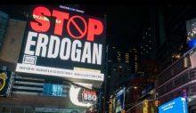 ABD'de dev ilanlar: Stop Erdoğan