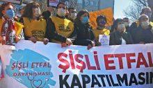 Çevre halkı, taşınması gündemde olan Şişli Etfal Hastanesi için itiraz ediyor