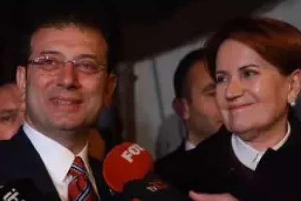 İmamoğlu'nun Buldan ve Akşener tweeti böyle yorumlandı: Akşener'i yoldan itmenin peşinde