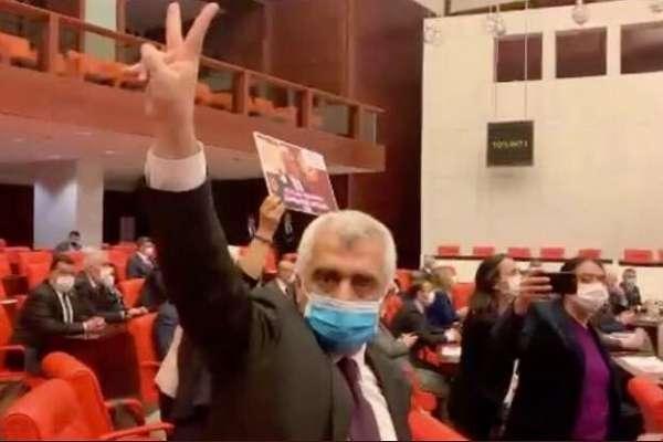 Gergerlioğlu'nun dokunulmazlığı kaldırıldı; HDP Meclis'te direnişe geçti