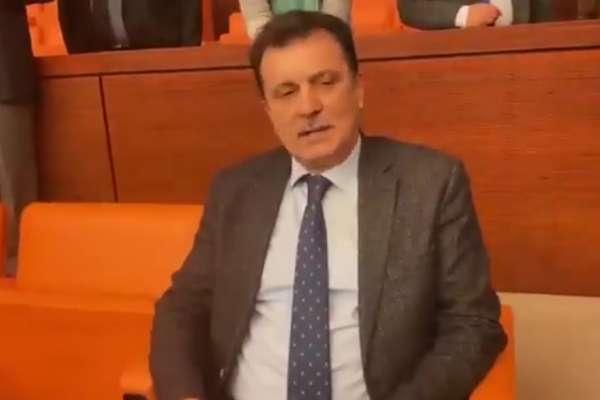 Eski AKP'li vekil Abdurrahim Aksoy'dan Meclis'te tepki: Kahrolsun otokrasi