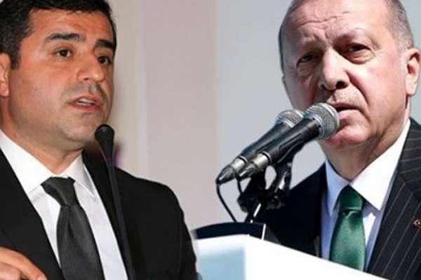"""Cumhurbaşkanı'na hakaretten hapis cezası alan Demirtaş: """"Niye o kadar az söyledim diye üzgünüm"""""""