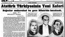 Montrö tartışmalarına karşı çıkanlar Türkiye düşmanı ilan edildi bile! / Derya Havin GÜNGÖR
