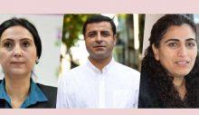 Demirtaş, Yüksekdağ ve Tuncel: Buradan adalet çıkmaz, bu pespaye iddianameyi reddediyoruz