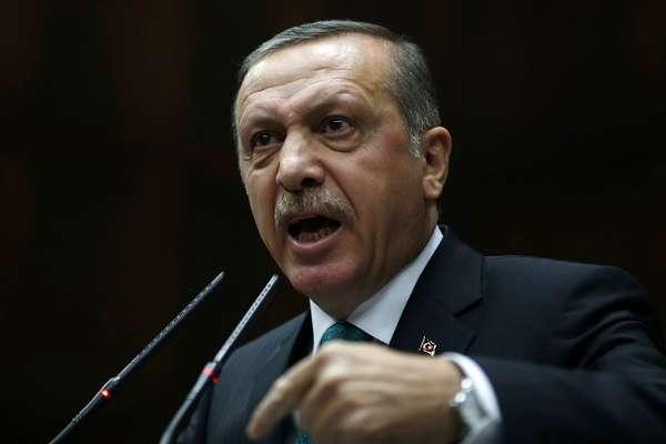 """Erdoğan, """"Kanal İstanbul karşıtlarını"""" Atatürk ve cumhuriyet düşmanı ilan etti"""