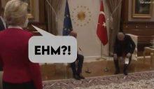 Leyen'in Erdoğan ile yaptığı görüşmede ayakta bırakılmasına tepki yağdı: 'Tam bir diplomatik fiyasko'