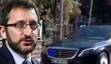 AA, Fahrettin Altun'un 'lüks Mercedes'inin izlerini sildi