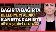 """""""Bağırta bağırta, kanırta kanırta büyükşehri alacağız"""" diyen AKP'li Zeynep Gül Yılmaz, sözlerine 'açıklık' getirdi!"""