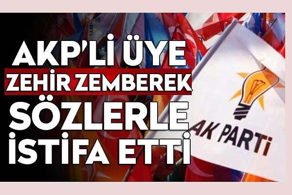 AKP'li üye istifa etti: Taşınmazların hunharca satılması, usulsüz ihaleler ve Genel Merkez'in bildiği halde susması..