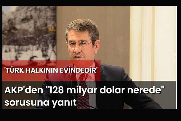 Canikli: '128 milyar dolar' Türk halkının evinde!