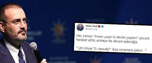AKP'li Ünal fena çuvalladı: '128 Milyar Dolar'ın sadece '60 milyarına' yanıt verdi