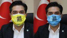 Salgın nedeniyle pankart asmak yasaklanınca… İYİ Parti'den maskeli kampanya!