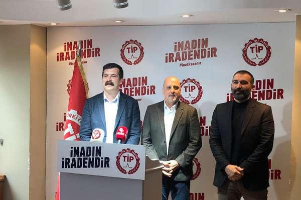 Bağımsız Milletvekili Ahmet Şık, Türkiye İşçi Partisi'ne katıldı
