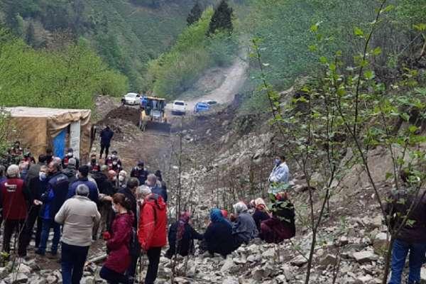 İkizdere halkı, Cengiz İnşaat'a geri adım attırdı