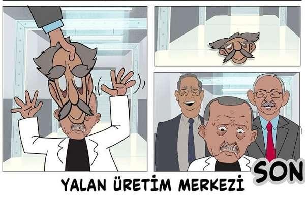 CHP'den AKP'ye Erdoğan'lı 'Yalan Üretim Merkezi' yanıtı!