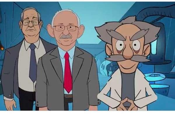 AKP, kendi ayağına dolanan animasyonu twitter hesabından sildi!