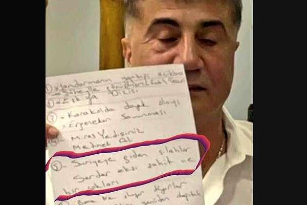 """""""AKP'ye mesaj"""": Sedat Peker'in videosundaki o detay ortalığı karıştıracak!"""