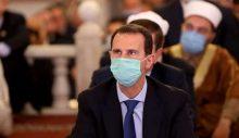 Suriye lideri Esad, bayram namazını Emevi Camisi'nde kıldı