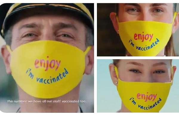 Turizm Bakanlığı'ndan skandal video: 'Biz aşılandık' maskeli çalışanlar