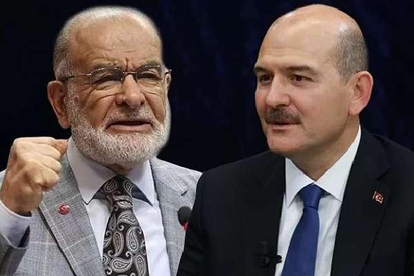 Karamollaoğlu'dan, Süleyman Soylu'ya istifa çağrısı: 'Aklanmak istiyorsa önce istifa etsin'