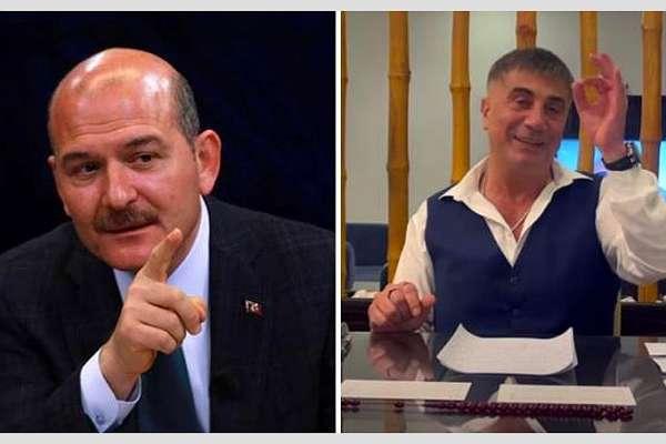 """Soylu'dan Sedat Peker'in iddialarına yanıt: """"Karısının iç çamaşırına sığınan acizler"""""""
