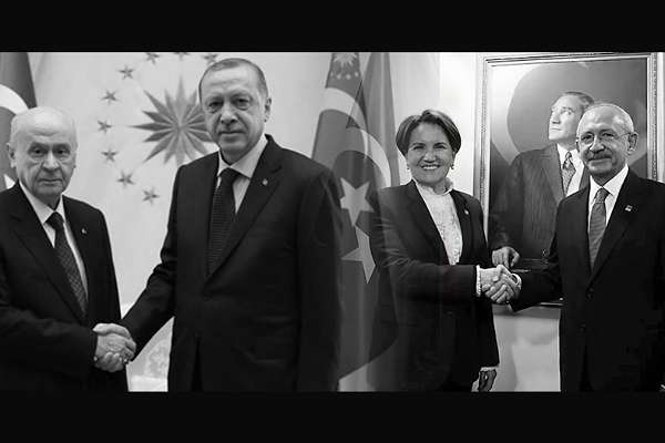 Millet İttifakı, iktidarı meşrulaştırmaya devam ediyor: HSK üyeliği seçiminde Cumhur ve Millet İttifakları uzlaştı!