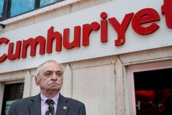 Eski Cumhuriyet Vakfı Başkanı Orhan Erinç'ten Cumhuriyet başyazısına tepki: Sözü edilen hukuk başarısı 'kirli' bir başarıdır!