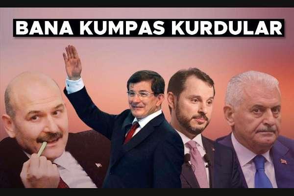 Davutoğlu: Soylu 'bana sahip çıkmazsanız ben AK Parti'yi yakarım' diyor. Soylu, bu kumpasın hesabını verecek