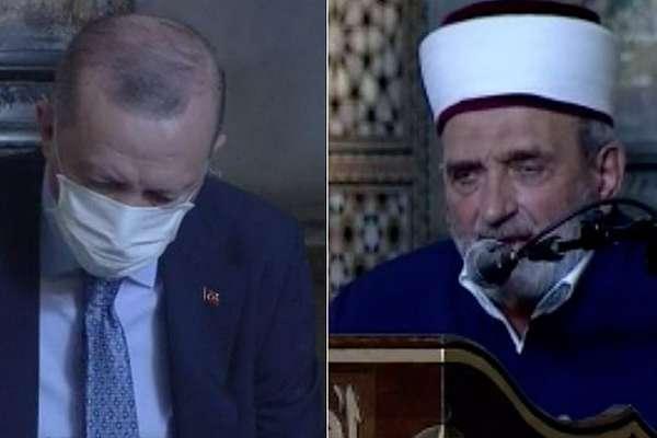Erdoğan'ın katıldığı programda Atatürk'e lanet okuyan imamla ilgili suç duyurusu<br>