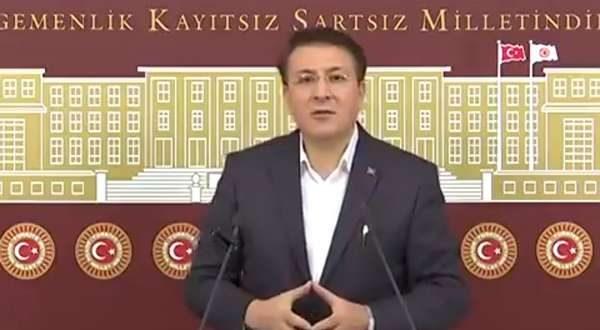 """AKP'li Aydemir: """"Müsilajın nedeni meymenetsizlik, yani uğursuzluk. Bunun sebebi de CHP'dir"""""""