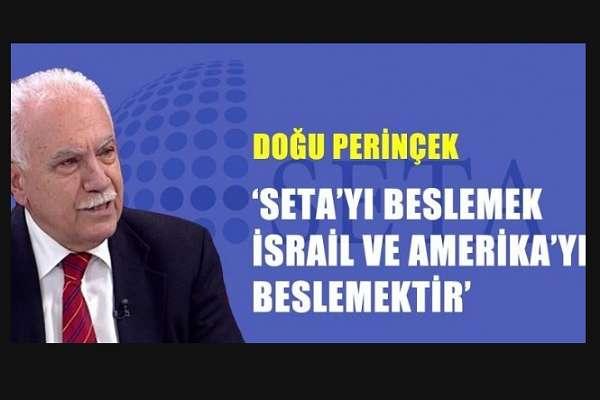 Gazetecileri de fişlemişlerdi: Perinçek'in hedef gösterdiği SETA dağıldı!