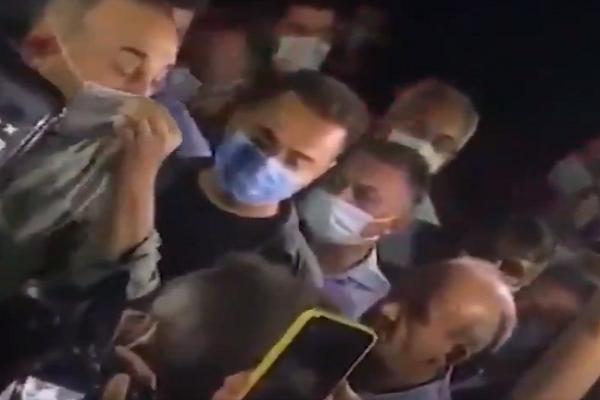 Çavuşoğlu, yangınla ağır kayıp veren Manavgat'ta yuhalandı