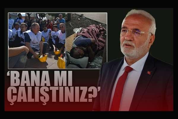 AKP'li Elitaş'tan 'size oy verdim' diyen madenciye: Bana ne, vermeseydin!