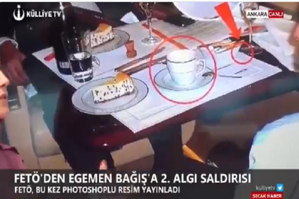 """Külliye TV'den Egemen Bağış'ın şampanyalı fotoğrafını yalanlamak için """"bilimsel analiz"""""""