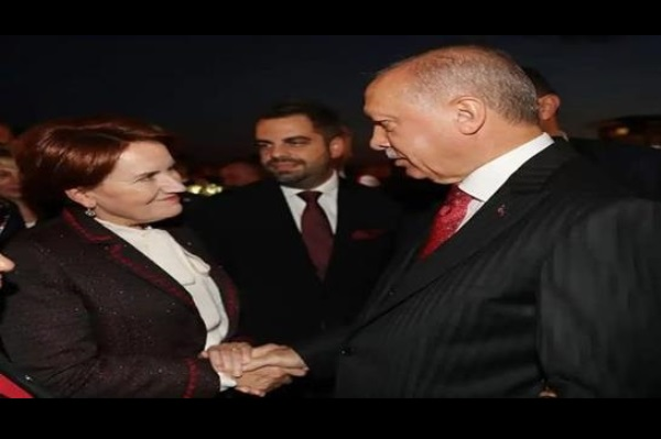 """""""Meral Akşener'e çok yakın bir isim Erdoğan'la bir saat görüştü"""""""