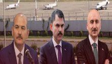 Yuh artık: 3 Bakan, sel felaketinin yaşandığı Rize'ye 3 uçakla gitti!
