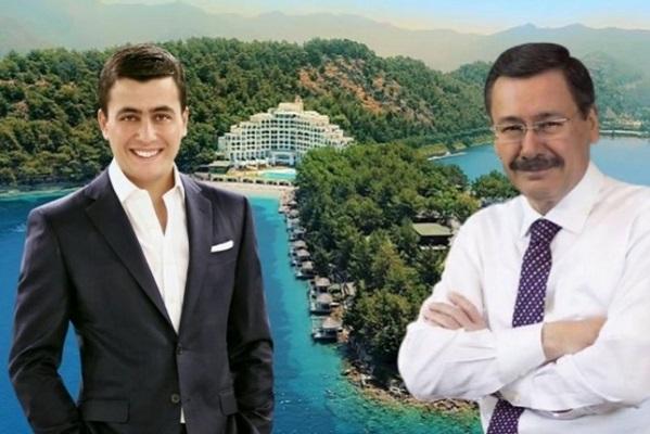 'FETÖ'ye finans sağladı' diye el konulan otelden Melih Gökçek çıktı
