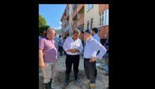 AKP'li Tevfik Göksu, sel bölgesinde böyle tepki gördü: Susmayı deneyin!